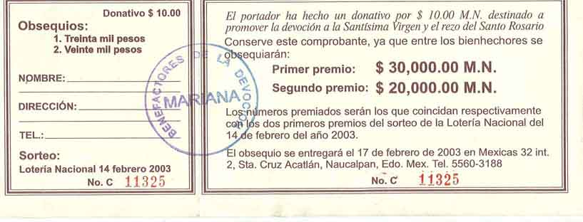 Boletos para rifa para imprimir gratis - Imagui